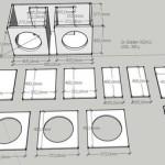 Как сделать карту раскроя фанеры для корпуса сабвуфера